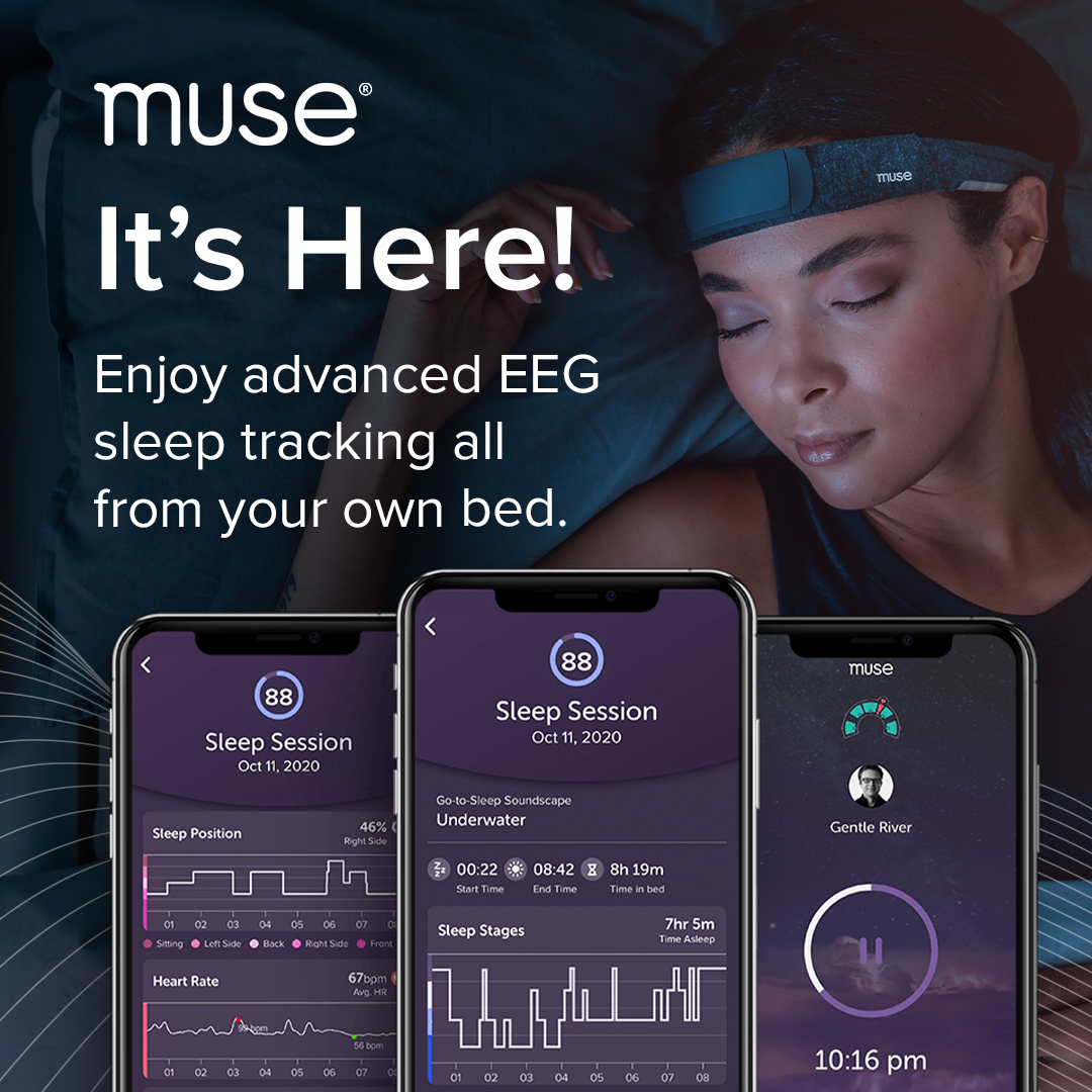 Muse S - track your sleep.